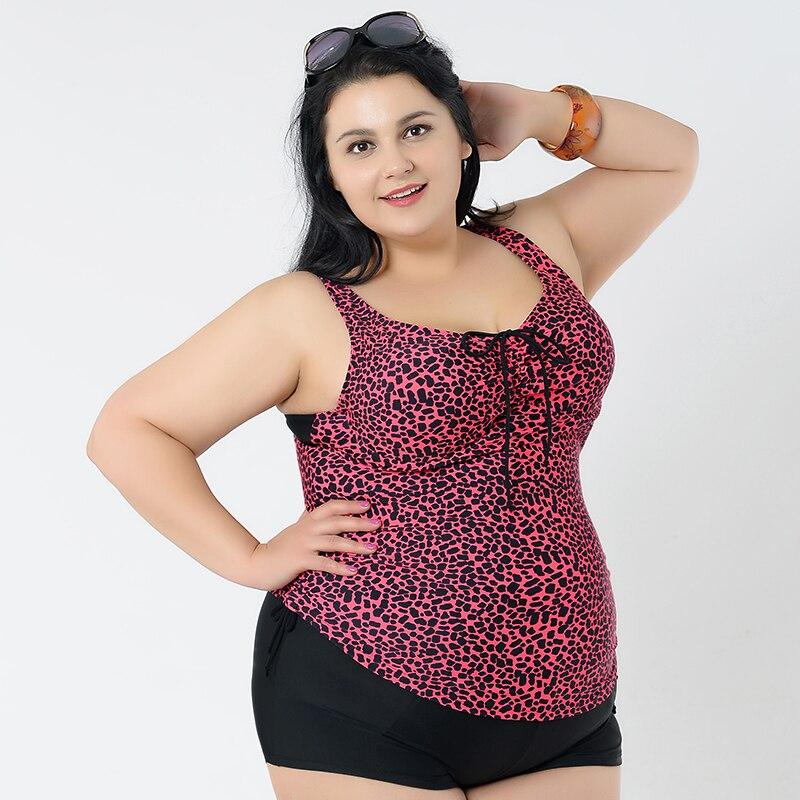Plus size swimwear 2 piece sexy