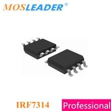 Mosleader IRF7314 SOP8 100 ชิ้น 1000 ชิ้น   20 โวลต์ Dual P   Channel 7314 IRF7314TRPBF IRF7314PBF IRF7314TR คุณภาพสูง