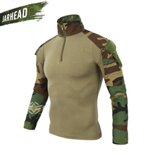Brand New 2018 Army Fans Mens Cotton Military Camouflage Tight Tactical Frog Clothing Multicolor Warm Wind Training Wear
