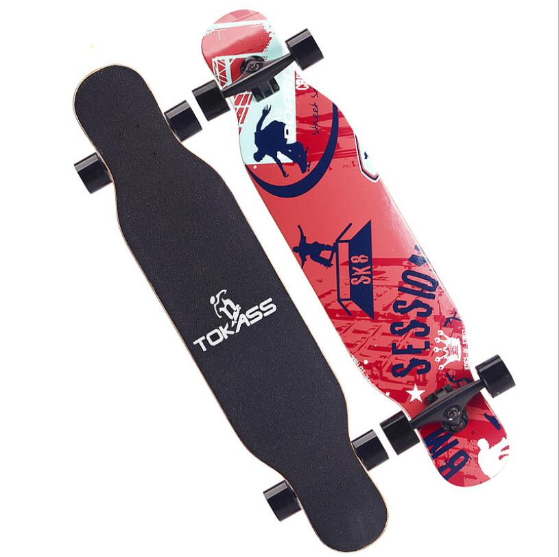 Image 4 - Professional Dancing Longboard Deck 107CM Highway Dance Board Downhill Freestyle Road Brush Street Skate Longboard Skateboard-in Skate Board from Sports & Entertainment