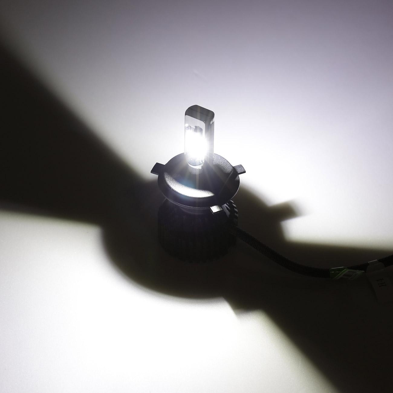Oslamp T8 H4 H7 H11 9005 9006 Car Led Headlight Bulbs Zes Chips 60w Relay Wiring Diagram Show Case