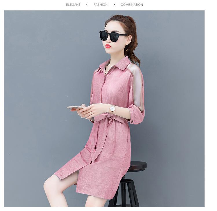 Dress female spring and autumn 2019 new fashion commuter slim strapless denim dress tide vestido Q280 16