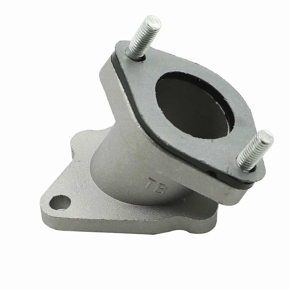 Para CG 125CC/150CC/200CC ATVS quads dirt bikes, go karts, vehículo para la arena de aluminio, de 28mm colector de entrada de carburador, pegamento para botas
