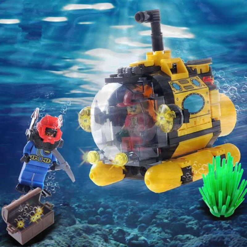 Набор лего подводная лодка