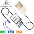 USB SD AUX MP3 Автомобиля Adapte Для Renault Avantime-Modus Clio Dayton 8-контактный Интерфейс