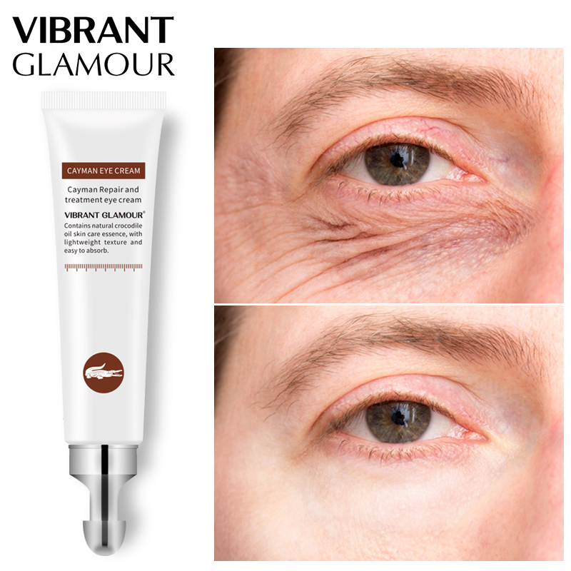 VIBRANT GLAMOUR Anti -Age Wrinkle Eye Cream Moisturizing Crocodile Serum Remover Dark Circles Against Puffiness Bags Skin CareVIBRANT GLAMOUR Anti -Age Wrinkle Eye Cream Moisturizing Crocodile Serum Remover Dark Circles Against Puffiness Bags Skin Care