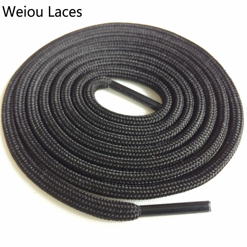 Weiou Outdoor Polyester Casual Sneakers Rope Shoelaces Grey Skate Boot Shoe Laces Strings For Martin Boots Sport Shoes 350 750