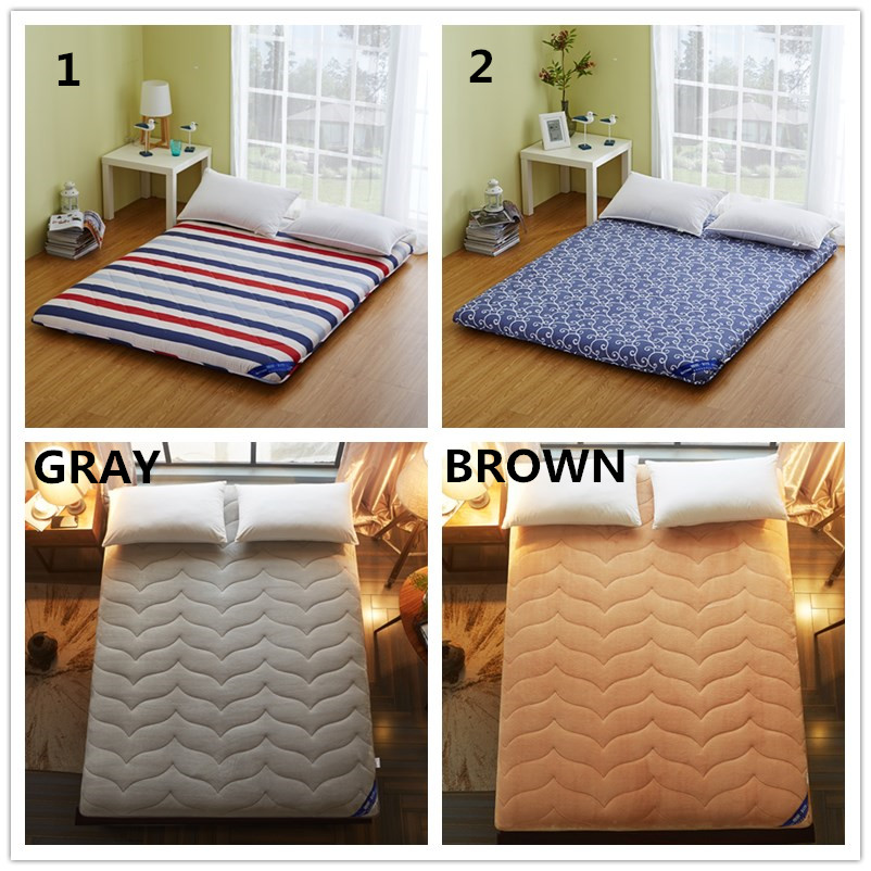 Slow Forest Queen Mattress Tatami Mat 6cm Thickness for Bedroom Sleeping on Floor Mat Folding Mats Without Pillows Cushion