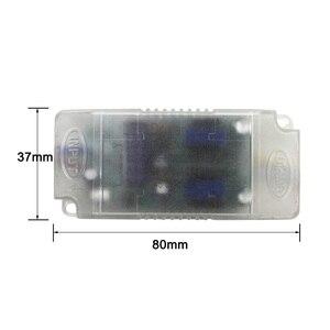 Image 5 - 12 24Wx2 bezpieczeństwa LED z tworzywa sztucznego sterownik AC165 265V napęd zasilania transformatora z pilot na podczerwień do oświetlenia LED