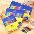 12/18/24 цветной нетоксичный треугольный пластиковый набор восковых мелков  масляные пастельные карандаши для рисования граффити  детские шко...