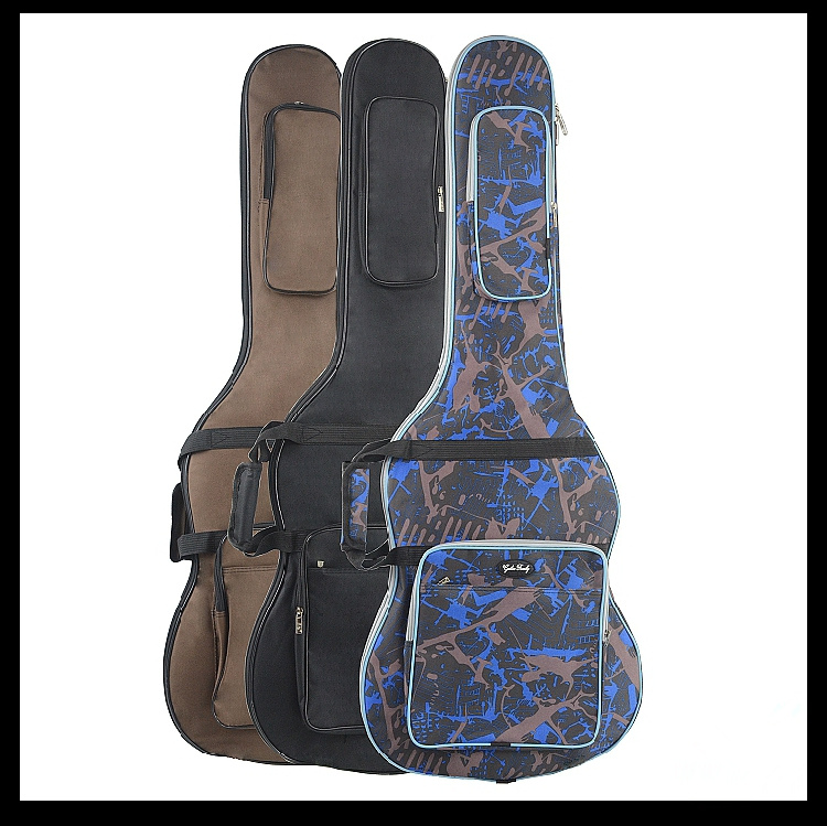 Waterproof Thicken 11.5 mm Electric Guitar Bag Case Backpack Guitarra Accessories Parts Colorful Cloth Carry Gig ukulele bag case backpack 21 23 26 inch size ultra thicken soprano concert tenor more colors mini guitar accessories parts gig