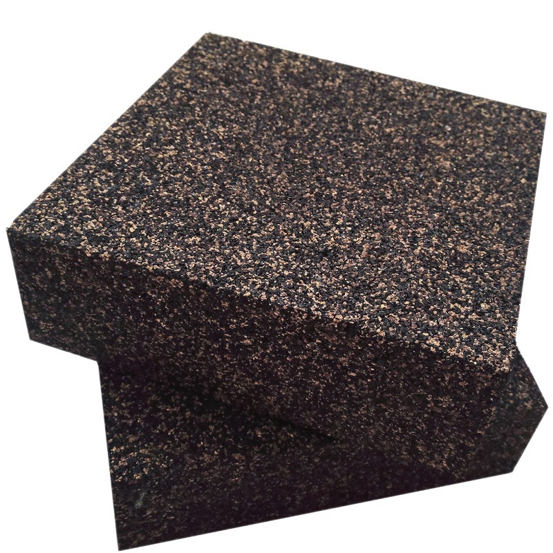 Anti Vibration Isolation Pads - Composed Of Rubber & Cork - Thick & Heavy - 6 X 6 X 2 Inch (2 Pack)