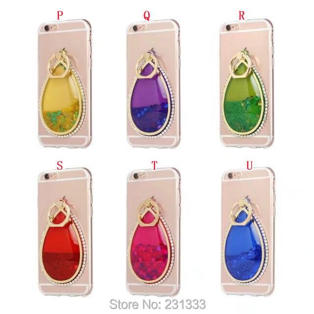 C-ku For Iphone 7 PLUS 7PLUS I7 <font><b>6</b></font> 6S Liquid Quicksand Diamond <font><b>Glitter</b></font> Soft TPU Case Shell Dream catcher Flow <font><b>Cover</b></font> Fashion 1pcs