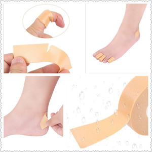 Image 2 - โฟมข้าวโพดแคลลัสนิ้วเท้า Protector เทป Hallux Valgus Bunion รองเท้าเบาะป้องกันแรงเสียดทานสูง Heel Feet Pads สติกเกอร์