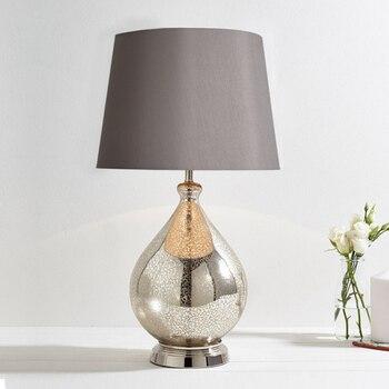 Quarto americano lâmpada de cabeceira personalidade cinza moderno e minimalista quarto modelo do hotel lâmpada nova tabela LW523306LY