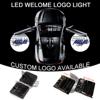 1set Car Door Wireless Projector Laser ADRIAD GOBO Logo Light Welcome Ghost Shadow Puddle Emblem LED