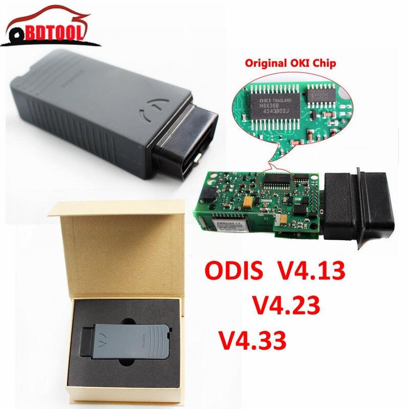 Top Qualité Date VAS 5054A ODIS 4.13 V4.23 V4.33 Bluetooth Appui Protocole UDS OKI Puce Outil De Diagnostic VAS5054A VAS 5054