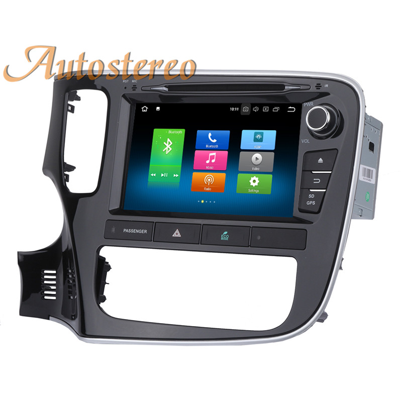 Cheap Android 9 Car GPS navigation Car DVD player For Mitsubishi OUTLANDER 2014 2015 2016 2017 multimedia radio tape recorder headunit 17