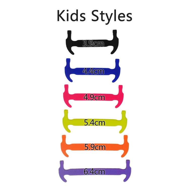 1Set/12Pcs Kids Child Silicone Elastic Shoes Laces Waterproof All Sneakers Fit Strap Shoelaces for First Walkers Baby Shoeslace   Happy Baby Mama