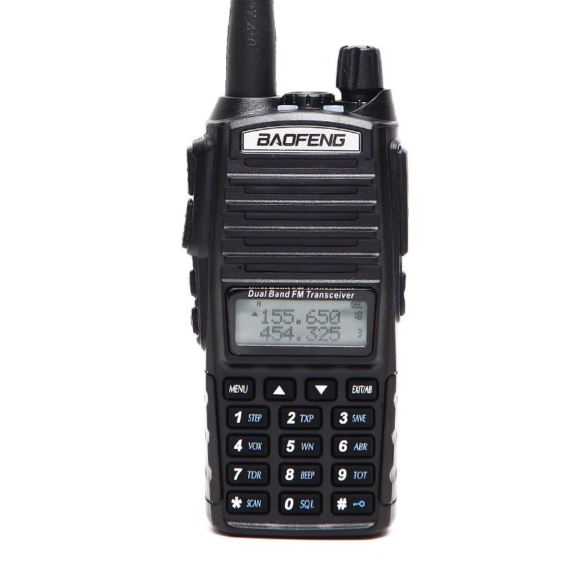 Image 5 - 2020 Baofeng UV 82 Plus  8W 10KM Long Range Powerful Walkie  Talkie Portable CB vhf/uhf ptt two way Radio Amador 8 watts of  UV82baofeng uv-82vhf amportable cb