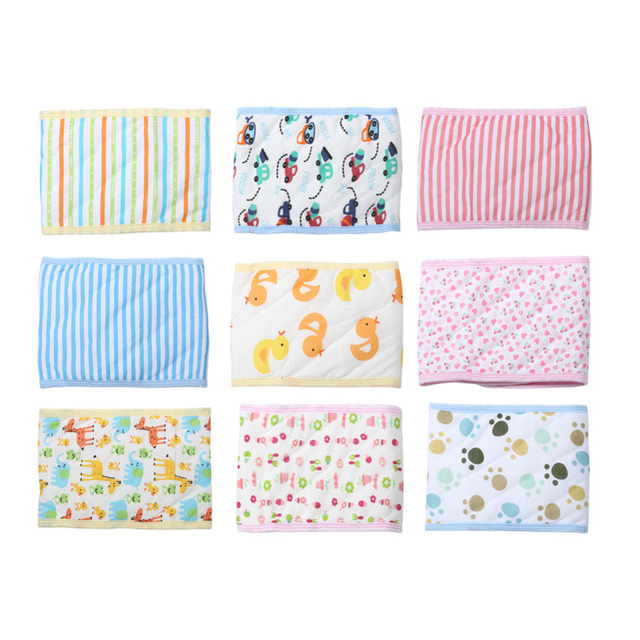 1Pc Baby Bellyband Newborn Soft Cute Cotton Belly Button Protector Band Infant Kids Boys Girls Navel Guard Belly Protection