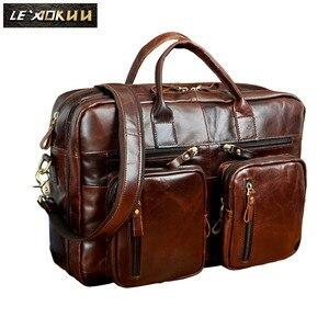 Quality Leather Man bag design