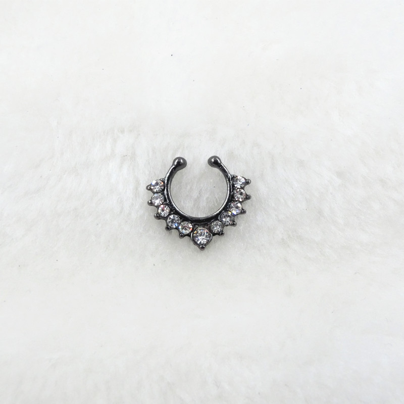 HTB1R3I_PFXXXXa6XVXXq6xXFXXXW Trendy Women Black Alloy Clicker Septum Nose Ring Jewelry - 10 Styles