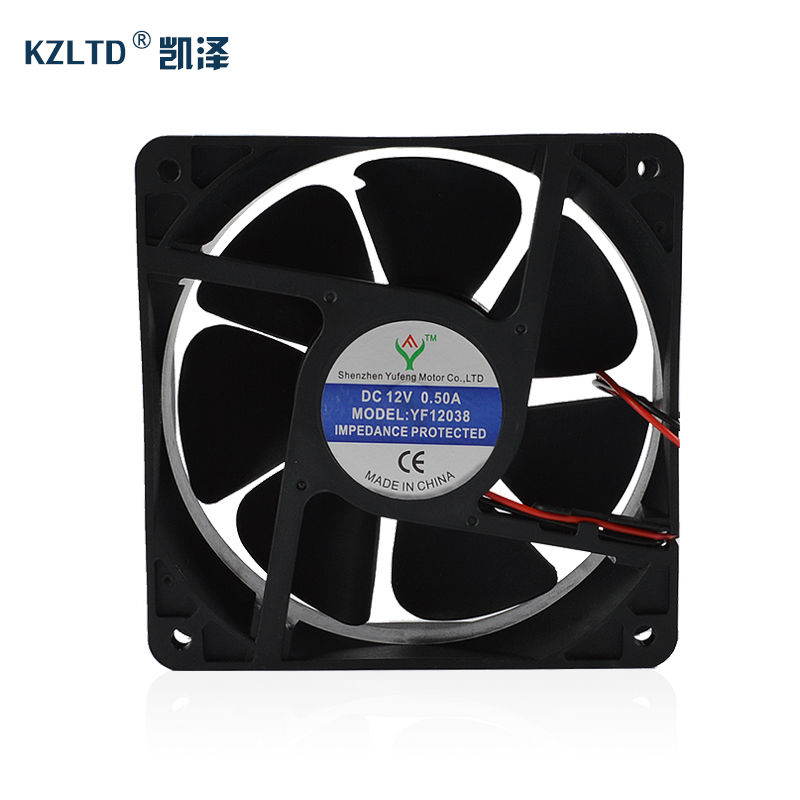 SSR Solid State Relay Heat Dissipation  Fan KF12038 normally open single phase solid state relay ssr mgr 1 d48120 120a control dc ac 24 480v