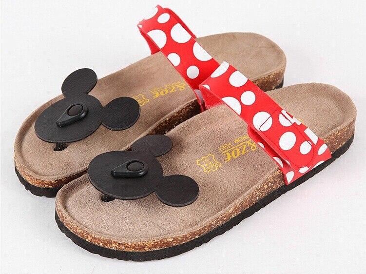 6c6b533af4f4 NEW 2015 Summer Women sandal South Korea cute cartoon dot comfortable  summer cool flip-flops women cork slippers free shipping