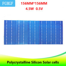 10PCS 5BB Photovoltaic Polycrystalline panneau solaire Solar Cells 4.5W  For DIY Solar Panel solar battery  charger солнечные ба 1m x 8m diy solar panel film eva sheet for photovoltaic cells encapsulation