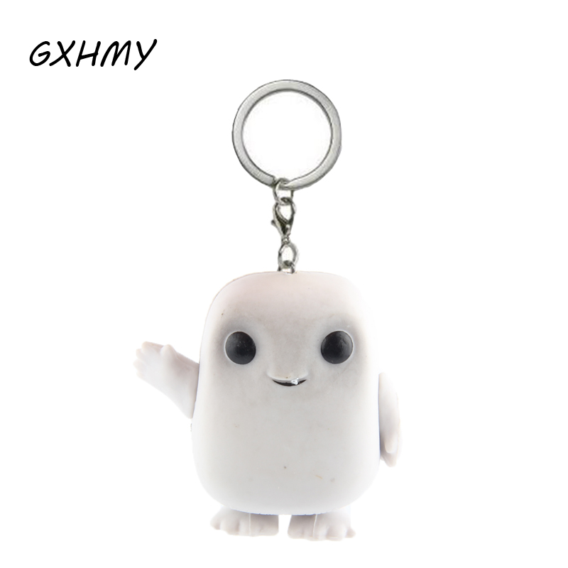 Doctor Who Adipose Action Figures Children Toy Keychain With Retail Box
