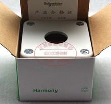 Free shipping Original authentic Schneider One hole button switch box XALB01C XAL-B01C цена 2017
