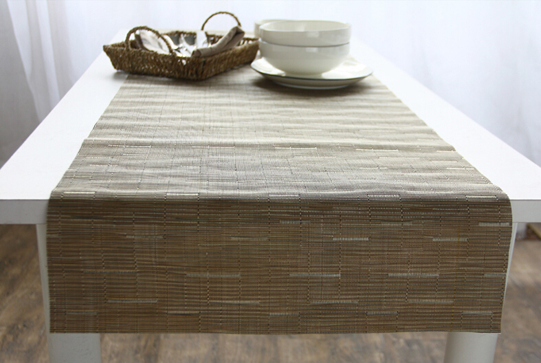 Chinese Classical PVC Waterproof Family Living Room Hotel Cafe Teahouse  Coffee Table Table Runner ...