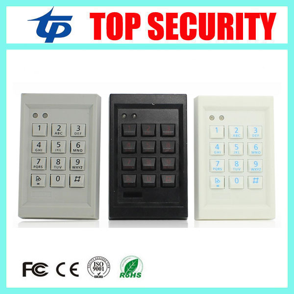 Good quality 125KHZ RFID card access control reader EM card reader door access control opener standalone single door controller good quality smart rfid card door access control reader touch waterproof keypad 125khz id card single door access controller