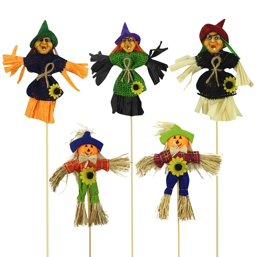 top grand halloween decorations flag doll lanyard cute pull flower bar classroom dress up props 414