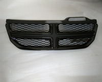For Fiat Freemont 2012 2013 2014 Black/silver Front Grill Bumper Radiator Upper Grille