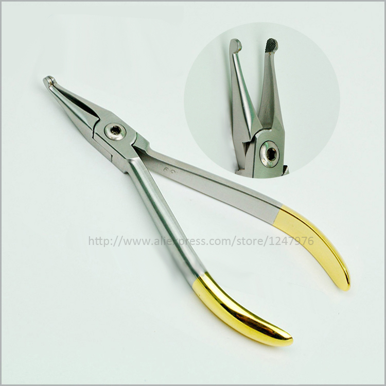 Dental orthodontic pliers orthodontic material tool orthodontic pliers inlaid tungsten genuine special offer kim dental pliers dental orthodontic kim multi curved square wire bending forming pliers dental tools