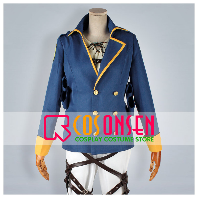 COSPLAYONSEN Attack on Titan Wings of Counterattack ONLINE Eren Jager The Independent Special Force Cosplay Costume