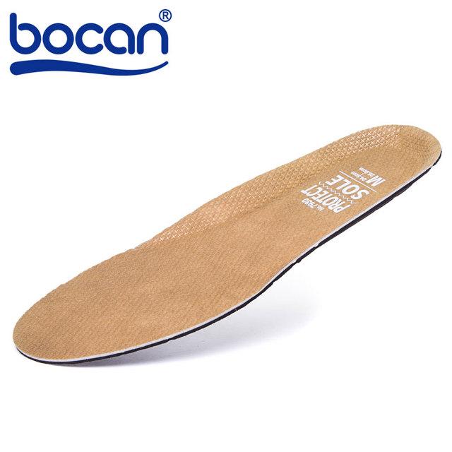 Palmilhas palmilhas de proteção flexível e confortável almofada para o trabalhador de aço peso leve pad cuidados com os pés 3 tamanhos cor marrom 609-7930