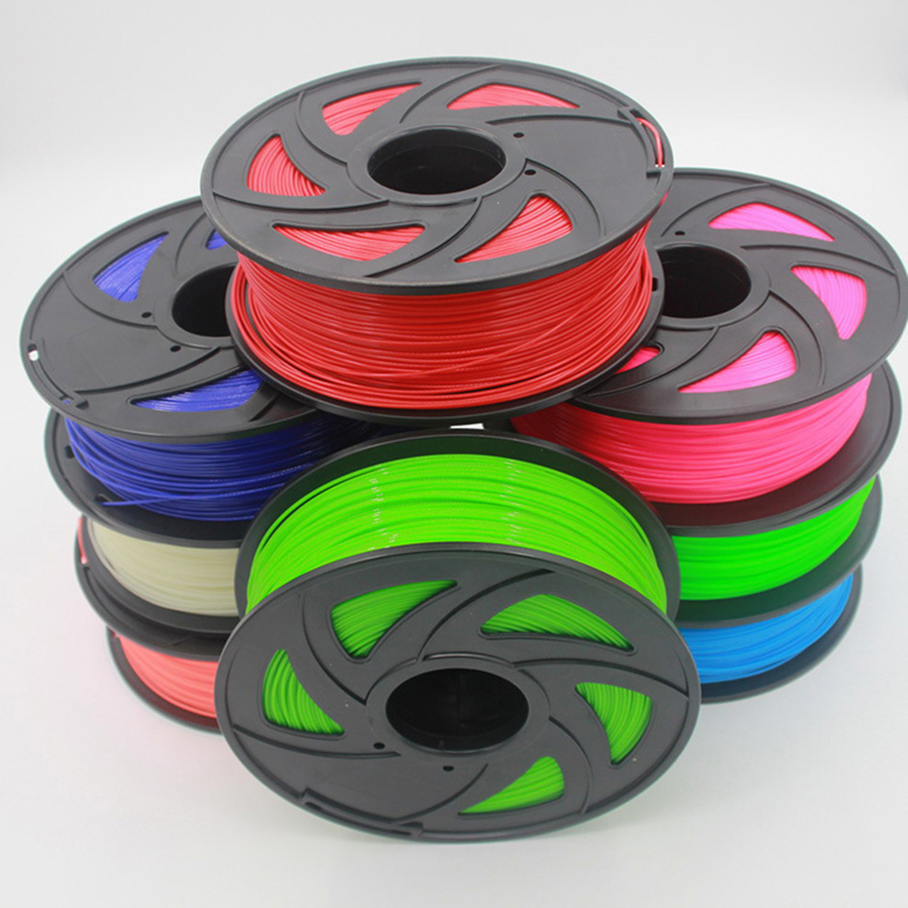 3D printer filament PLA 1.75mm 1kg plastic Rubber Consumables Printing Material 28 kinds colours for you choose цена и фото