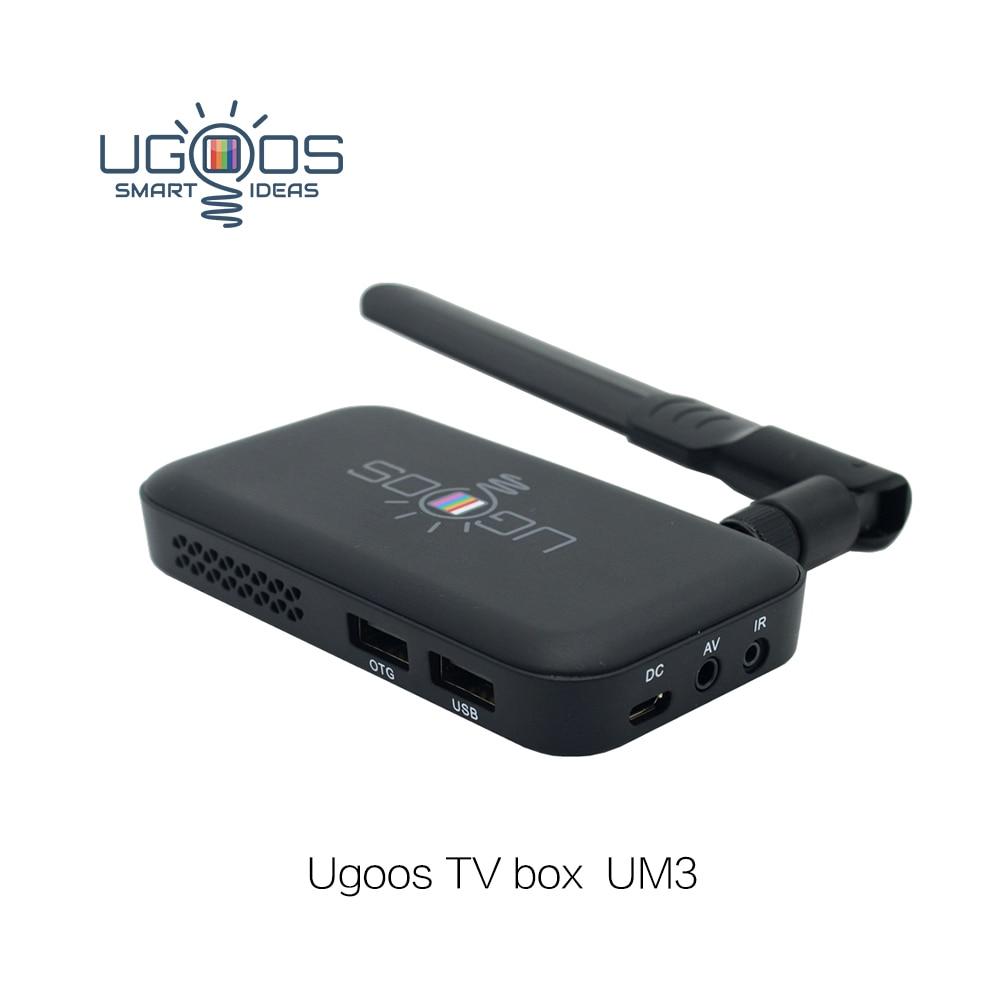 Ugoos UM3 Dongle - new 1.8GHz 2G+8G Android 5.1 Quad Core RK3288 Smart TV Dongle with Heatsink KODI upvel um 522tv smart tv приставка