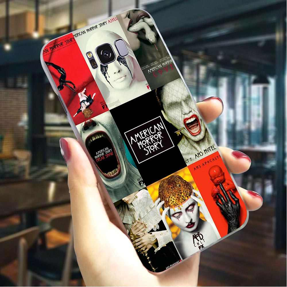 Telefoon Cover Voor Galaxy A6 Plus 2016 Tv American Horror Story Case A3/A5 A6 A8 Plus/A7 a9 2018 A10 A20 A30 A40 A50 A70