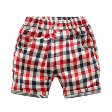 Brand Summer Children Beachwear Casual Beach Shorts Kids Clothes Cotton Baby Boys Shorts For Age 2-8T