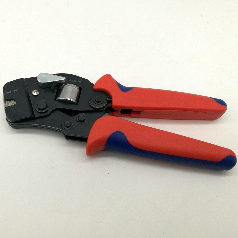 C-0816 outil de sertissage auto-réglable pour 0.25-10.0 + 16mm2 embouts de câble pince à sertir embouts de câble outil de sertissage