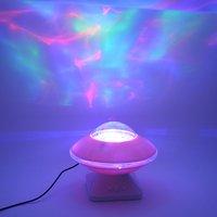 Light Up Lamp Toys for Baby Sleep Light Starry Sky Aurora LED Music Speaker Flashing Light Projector Kids Novelty Toy Lamp Gift