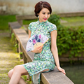 The Wizard of Oz 2015 summer models new cheongsam silk cheongsam dress modified retro double