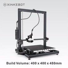 Xinkebot Orca2 cygnus все металлические 3D принтер двойной Цвет печати ЖК-дисплей Сенсорный экран 400x400x480 мм построить объем для продажи