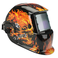 AIRAJ Welding Helmet Solar Powered Auto Darkening Hood with Adjustable Shade Range 4/9 13 for Mig Tig Arc Welder Mask