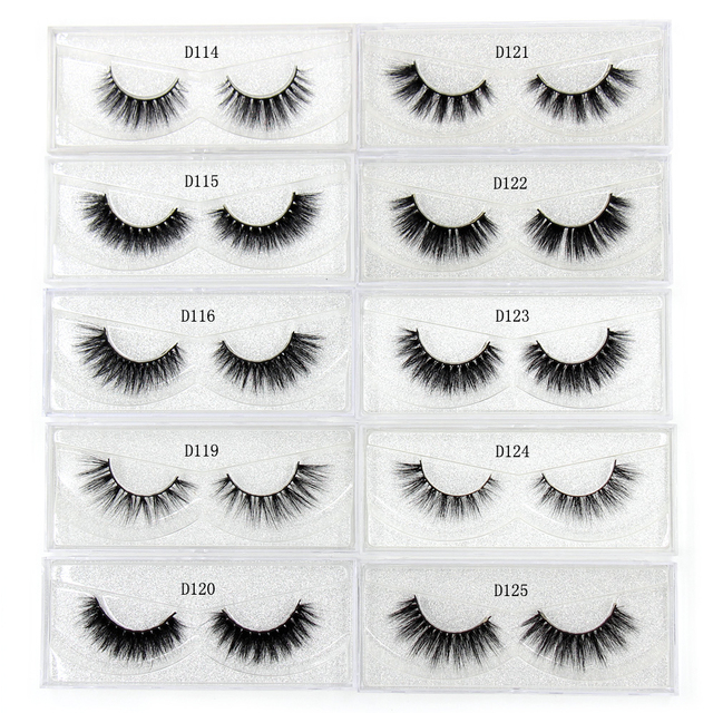 AMAOLASH Eyelashes Mink Eyelashes Thick Natural Long False Eyelashes 3D Mink Lashes High Volume Soft Dramatic Eye Lashes Makeup 4