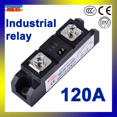 Factory supply 120A Industrial Solid State Relay SSR-H3120ZFFactory supply 120A Industrial Solid State Relay SSR-H3120ZF